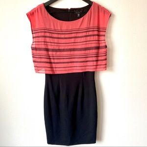 Bebe Like New Pink and Black Dress Size XS